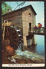 Grist Mill Postcard--Stone Mountain, Georgia