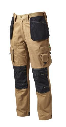 Apache FONDINA Pantaloni CORDURA Workwear Lavoro Protezione Ginocchio Pad Nero