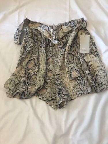 Burmuda in con cintura M Zara scamosciato Pantaloncini Taglia qIfv8w