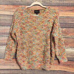 Fee maglione popcorn ciglia colore Darien Anthropologie Piccolo multi Verte La 5qRwn6gxU