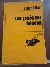 Hilda van Siller:un poison blond/ Le Masque N°1157, Champs-Elysées
