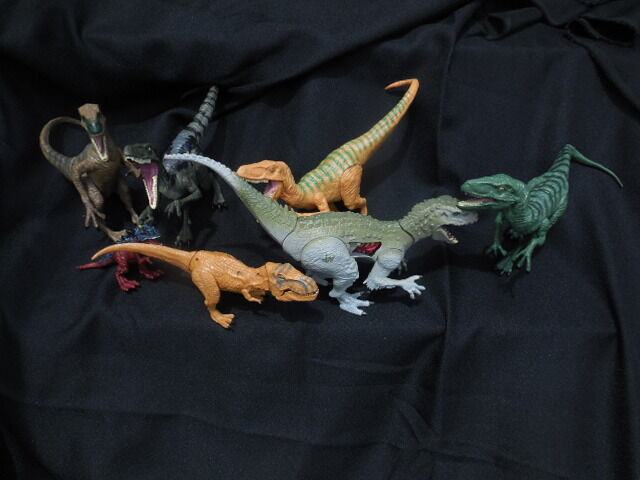 Dinosaurs Jurassic Space World Lot of 7 Hasbro 2015