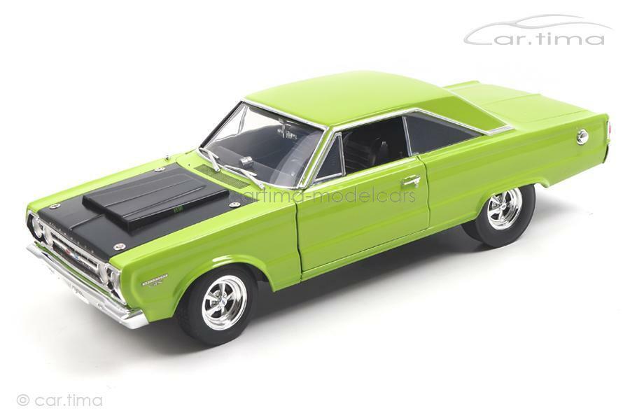 Plymouth Hemi GTX 1967 Limelight Green-Acme 1 18 - a1806703