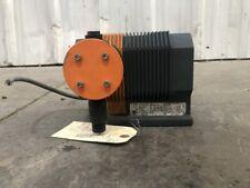 Prominent Alpb0808pp1000d0 Chemical Metering Pump 21132510gph 109psi 115v