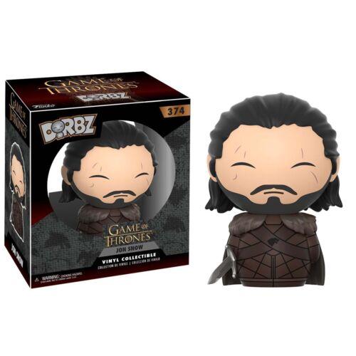 Funko Game Of Thrones Dorbz Jon Snow Vinyl Figure NEW Toys IN STOCK Collectibles