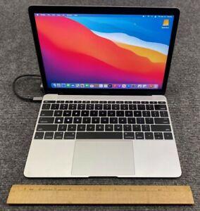Apple MacBook A1534 MLHC2LL/A Retina 2016 Laptop M5-6Y54, 8GB RAM, 500GB SSD