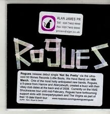 (CM656) Rogues, Not So Pretty - 2009 DJ CD