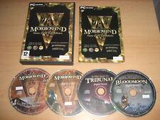THE ELDER SCROLLS 3 III MORROWIND GOTY inc BLOODMOON & TRIBUNAL Add-Ons Pc