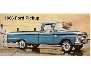 1972 Ford Pick Up Truck  Refrigerator Tool Box Magnet