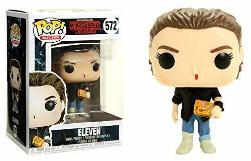 Figurine Funko POP Stranger Things - Eleven Punk Rock Pop - RARE - NEUVE