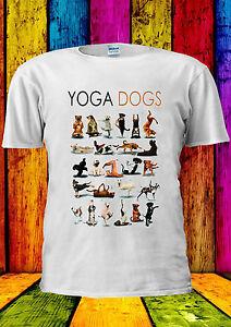 Yoga-Dogs-Funny-Gym-Pug-T-shirt-Vest-Tank-Top-Men-Women-Unisex-2209