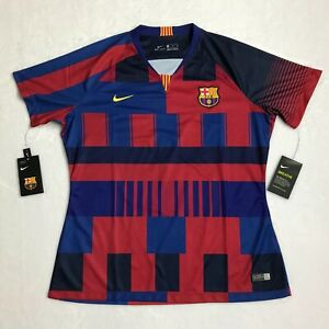 bf5648ba0 Image is loading WOMEN-S-Nike-FC-BARCELONA-20TH-ANNIVERSARY-STADIUM-