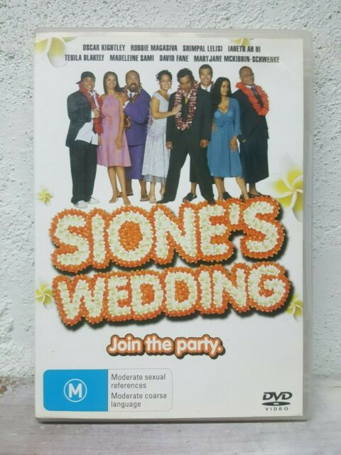 Sione's Wedding DVD Siones Samoan - NEW ZEALAND MOVIE - NZ KIWI 2006 RARE OOP