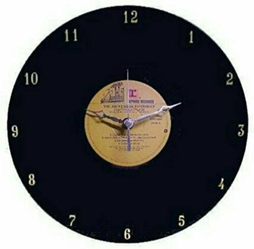 Jimi Hendrix Experience Vinyl LP Record Wall Clock by Rock Clock