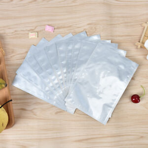 10pcs-12-18cm-silver-aluminum-foil-mylar-bag-vacuum-sealer-food-storage-packa-Kc