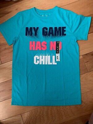 Xersion Boys Crew Neck Short Sleeve Graphic T-shirt xl 18//20 free shipping neon