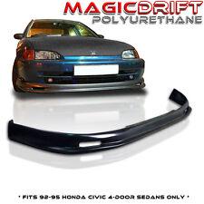 Honda Civic EG SEDAN JDM MUGN Front Bumper PU Lip URETHANE