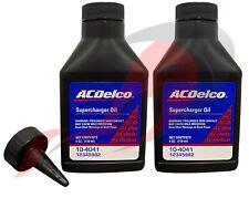 Genuine Gm Acdelco 10 4041 Supercharger Oil 4oz Eaton Set Of 2