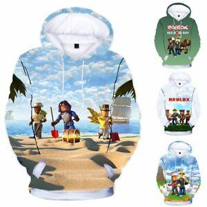 Category Roblox Cute Boy Boys Girls Kids Roblox Casual Loose Cute Sweatshirt Hoodie Pullover Hooded Tops Ebay