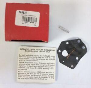 GENUINE BRIGGS /& STRATTON DIAPHRAGM 299637 original Briggs spare parts 496418