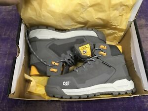 Caterpillar Women's Propulsion WP Safety Boots - Charcoal US SIZE 5 P91149