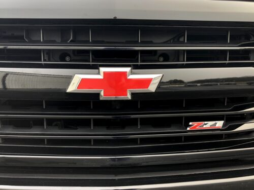 """2 10/""""x5/"""" Vinyl Bowtie Overlay Decals For Chevrolet Emblems Oracal Choose Color"""