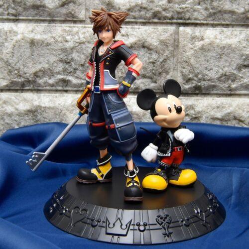 KINGDOM HEARTS ICHIBAN KUJI A Award SORA /& King Mickey Mouse Figure FROM JAPAN