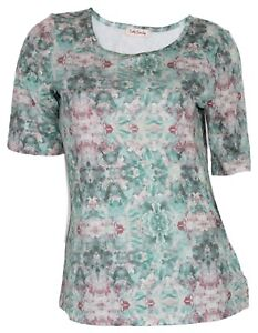 Betty-Barclay-Donna-T-Shirt-4683-0577-1900-Verde-Colorato