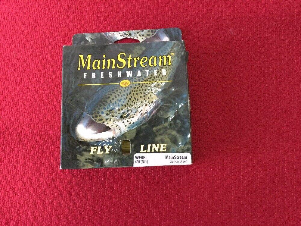 Rio MAINSTREAM Lemon Green  WF6F  Fly Line-New In Box