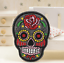 Sugar-Candy-Skull-Iron-On-Patch-Badge-Day-of-the-Dead-Transfer-Jacket-Hat-Bag thumbnail 13