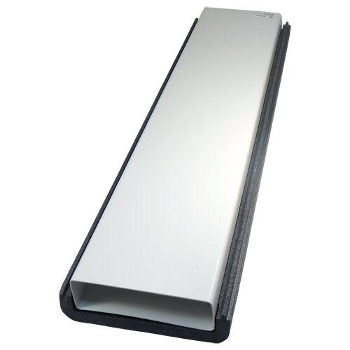 Rohrisolierung Wärmeisolierung Isolation Flachkanal  dalap 220x90mm//1000mm 4020