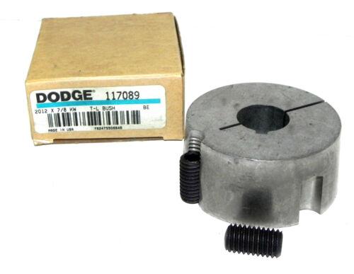 NIB DODGE 117089 TAPER-LOCK BUSHING 2012X7//8 KW