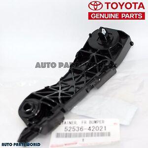 Details about  /For 2009-2012 Toyota RAV4 Bumper Seal Front Left Driver Side 14323QJ 2010 2011