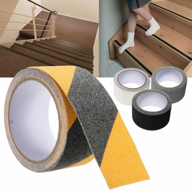 Anti Slip Tape 5M 25mm-100mm Non Slip High Grip Adhesive Safety Flooring Sticky