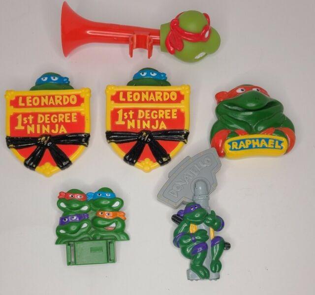 Lot Of Vintage Burger King TMNT Ninja Tutle Toys