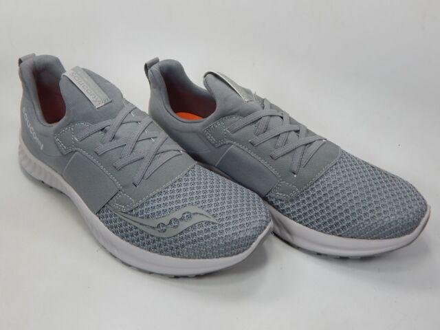 dc6aaada8079f Saucony Men's Stretch N Go Breeze Running Shoe Grey 10 Medium US