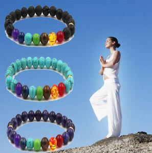7-Chakra-Bracelet-Healing-Beaded-Bracelet-Natural-Lava-Stone-Diffuser-Yoga-Charm