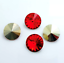 6pcs-14mm-Rivoli-Chaton-Acrylic-Rhinestone-CHOOSE-A-COLOUR miniature 10