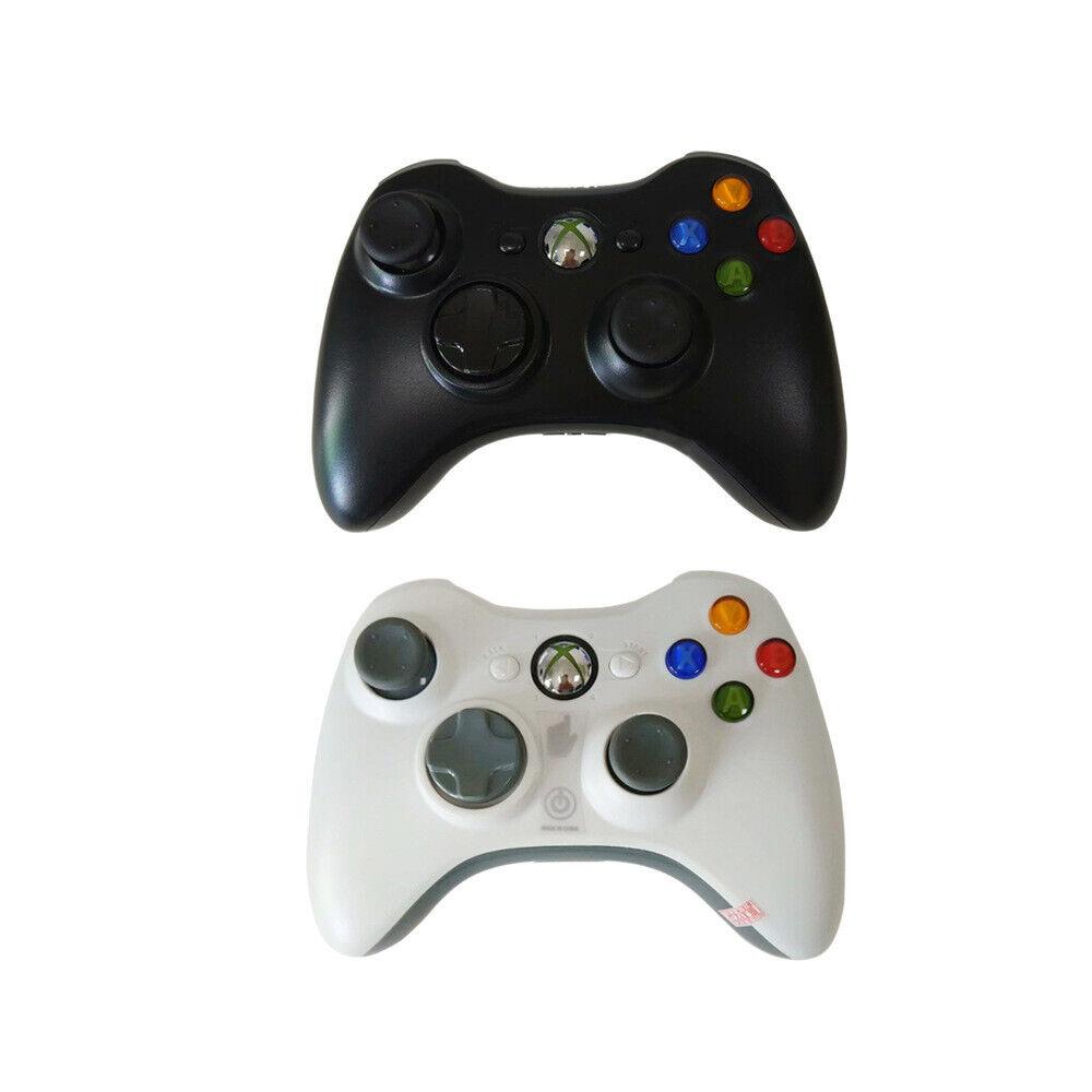 Microsoft Xbox360 Dual Shock Remote Gamepad Bluetooth Wireless Joypad Controller 7