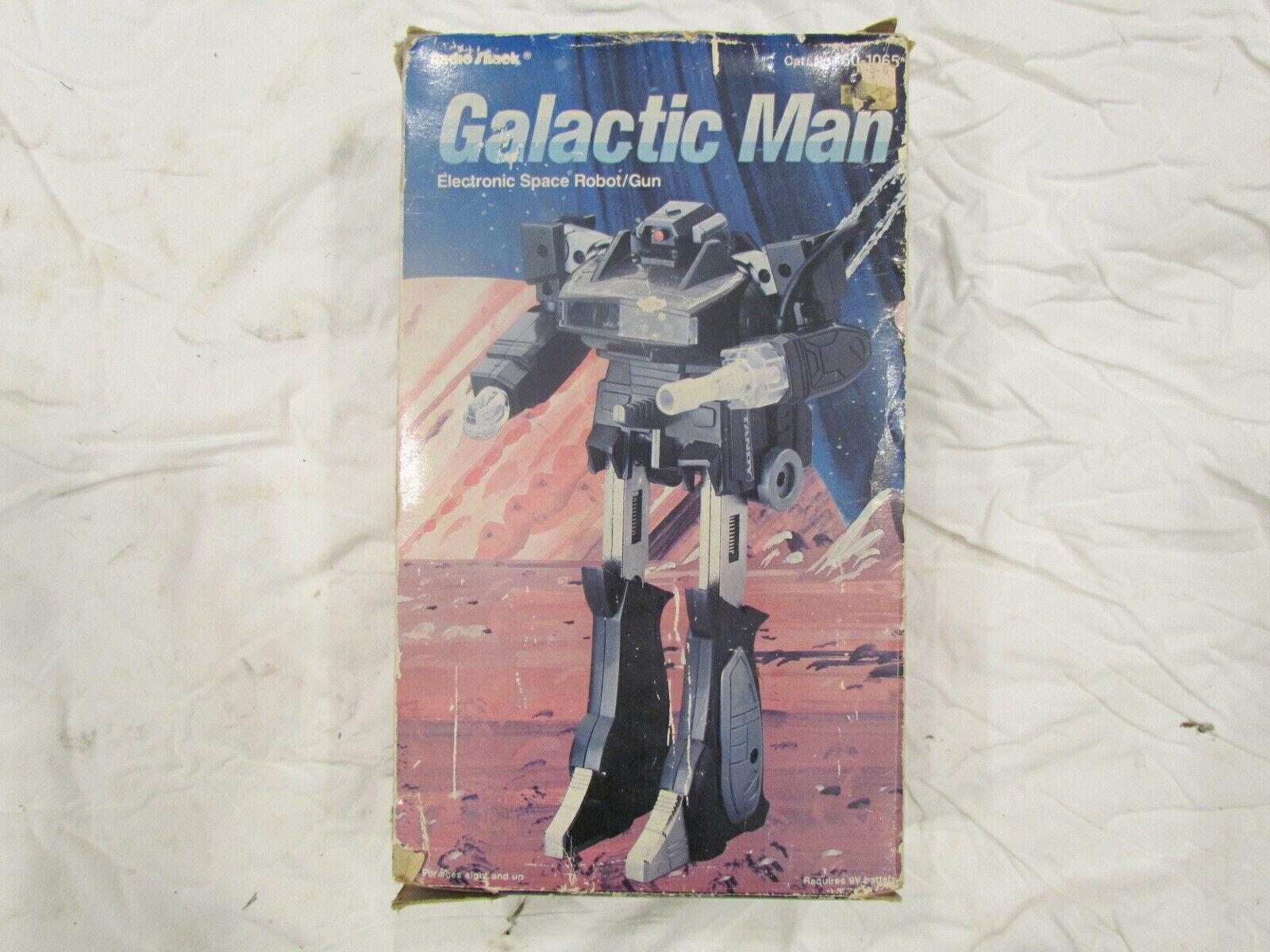 Galactic Man Transformers ToyCo 1983 G1 Shackwave Shockwave 100% Complete Works