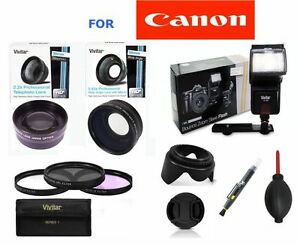 58MM-WIDE-ANGLE-LENS-ZOOM-LENS-FLASH-FILTERS-FOR-CANON-EOS-REBEL-T4-T4I-T3I