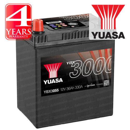 Yuasa Car Battery Calcium 12V 330CCA 36Ah T1//T3 For Reliant Robin MK1 0.8 850