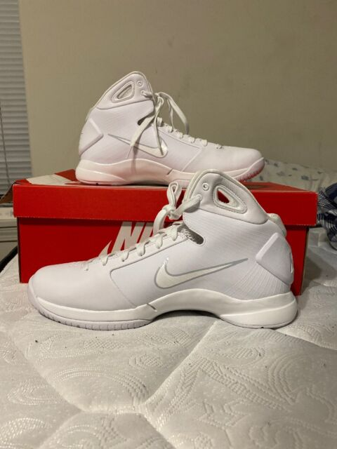 Nike Hyperdunk '08 Retro Mens Size 11 White Pure Platinum Basketball Shoes KOBE