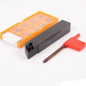 SDQCR1616H11 Lathe External Turning Tool Holder 1pcs DCMT11T304 Carbide insert