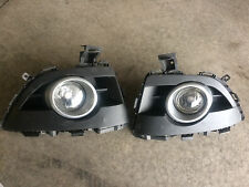 2008-2010 MAZDA 5 LEFT LH RIGHT RH BUMPER FOG LIGHT PAIR  W/BEZELS OEM