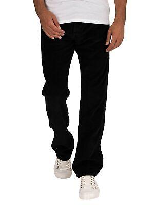 Lois Jeans Men/'s New Dallas Jumbo Cord Jeans Black