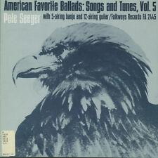 Pete Seeger - American Favorite Ballads Vol 5 [New CD]