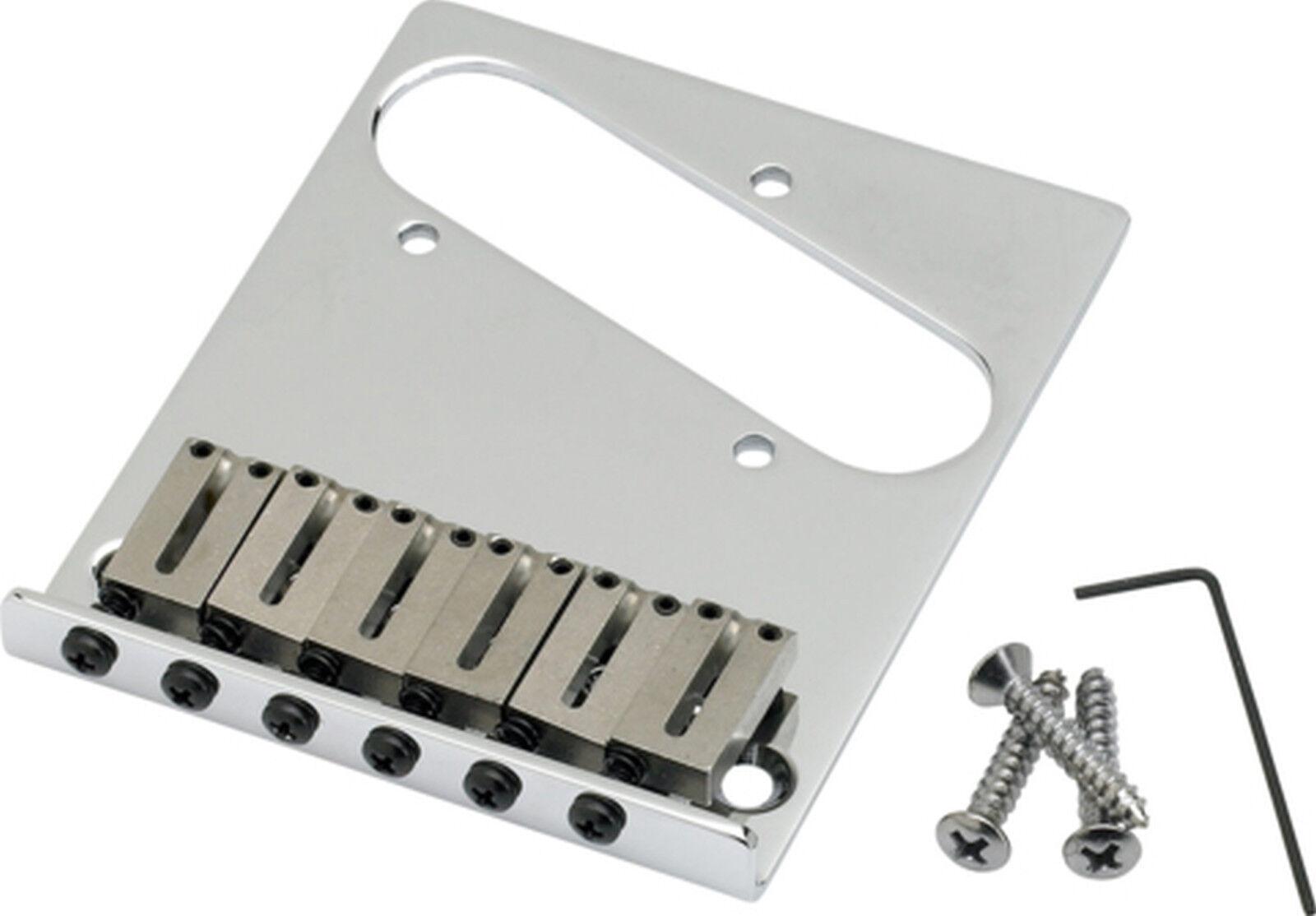 Fender 6-Saddle American Series Telecaster Bridge Assembly (Chrome) 0990807100
