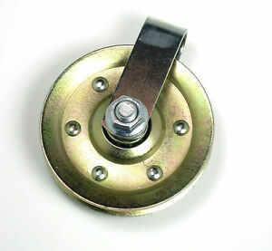 Heavy Duty 3 Quot Garage Door Pulley With Clevis For Extension