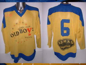 Old Boys Nachod Sweden Adult Large Ice Hockey Shirt Jersey NHL ... 2d50cb2ec